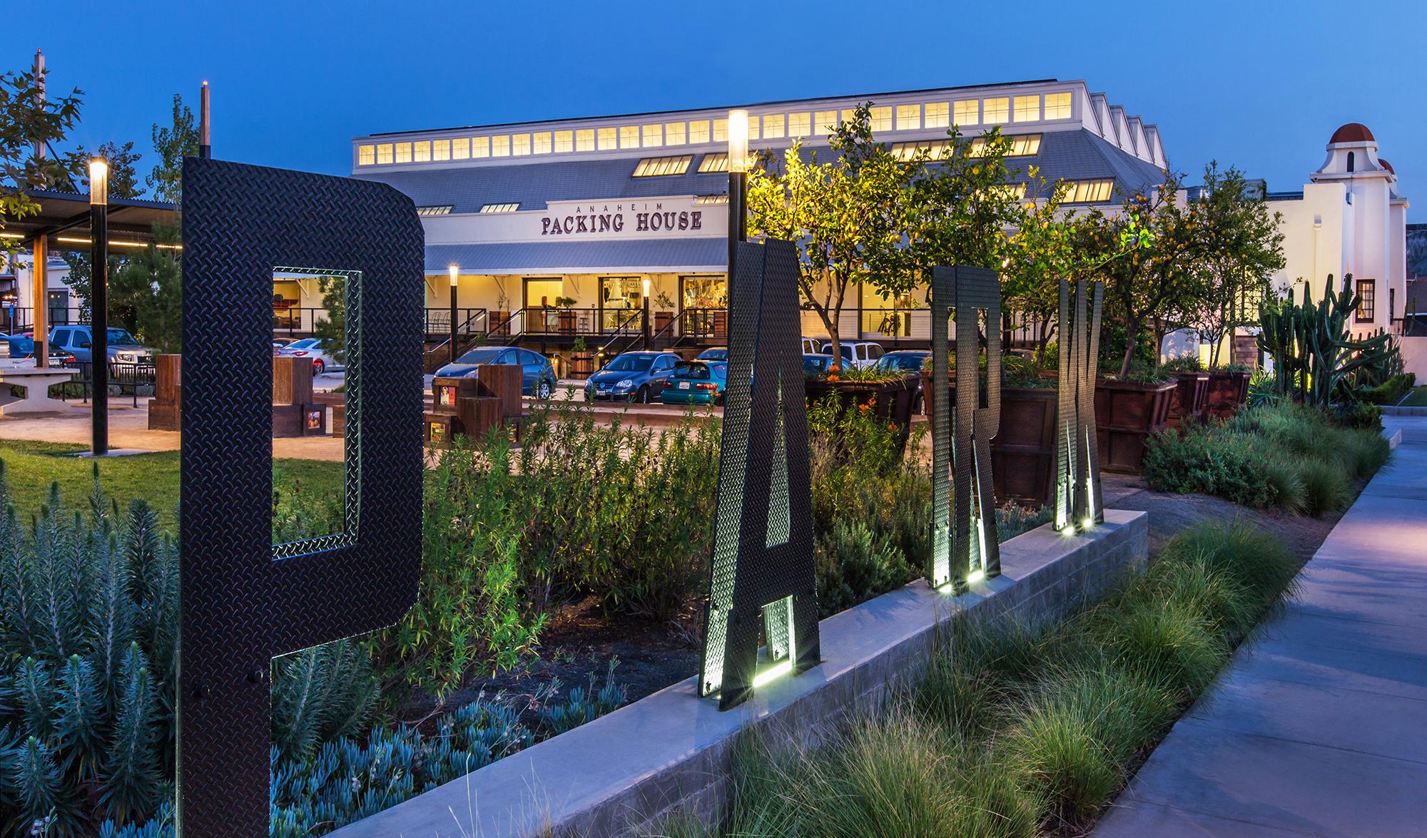 Captivating Anaheim Packing District La Mirada California